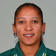 Shabnim Ismail Profile Photo - South African women's Cricket Player Shabnim Ismail.