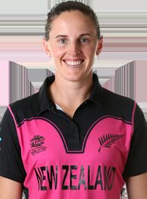 Amy Satterthwaite Profile Photo - New Zealand women's Cricket Player Amy Satterthwaite.