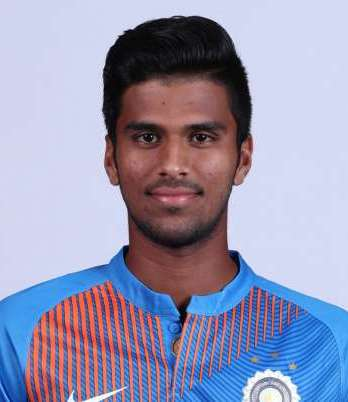 Washington Sundar Profile Photo - Indian Cricketer Washington Sundar Info, ICC Ranking, Records, Wiki, Family along with latest Images and News.