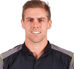 Anrich Nortje Profile Photo - South African Cricketer Anrich Nortje Info, ICC Ranking, Records, Wiki, Family along with latest Images and News.