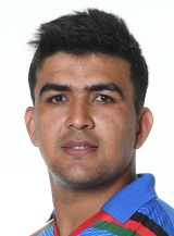 Hazratullah Zazai Profile Photo - Afghanistan Cricket Player Hazratullah Zazai.