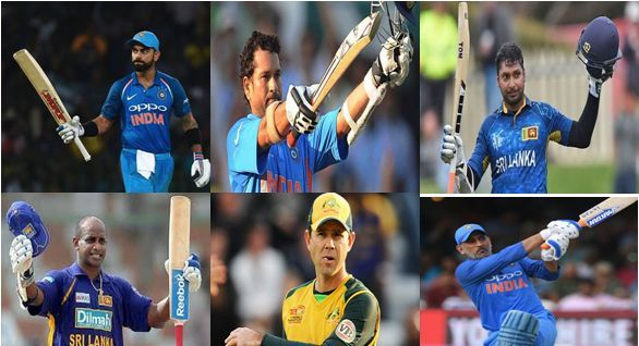 List of Cricketers who have scored 10,000 runs in ODI - Who Players scored fastest 10000 runs in ODI?